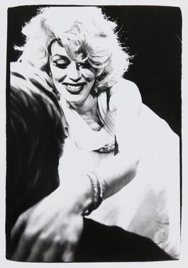 Andy Warhol, Photograph of a Marilyn Monroe Drag Impersonator