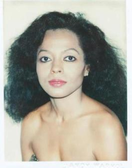 Andy Warhol, Polaroid Photograph of Diana Ross (The Supremes), 1981
