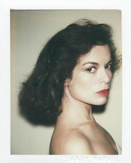 Polaroid Photograph of Bianca Jagger