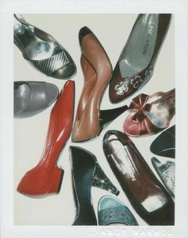Polaroid Photograph of Shoes
