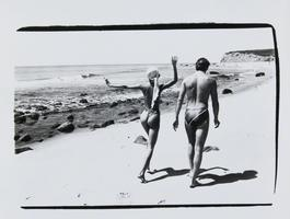 Pat Cleveland and Jon Gould in Montauk
