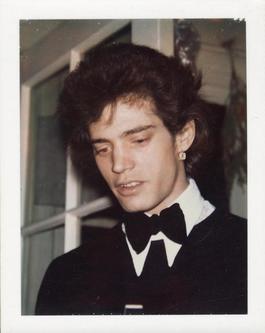 Polaroid Photograph of Robert Mapplethorpe
