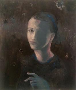 Portrat in Schwarz