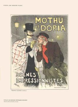 Theophile Alexandre Steinlen - Mothu et Doria - 1897