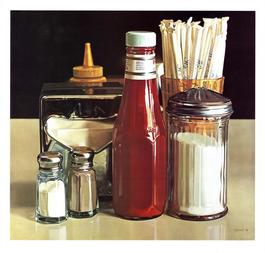 Still Life with Straws