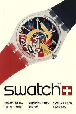 Swatch: Tadanori Yokoo-Rorrim 5