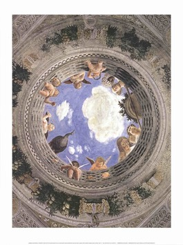 Ceiling of the Palazzo Ducale, Mantua