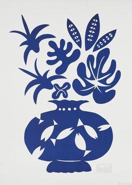 Vase II Bleu