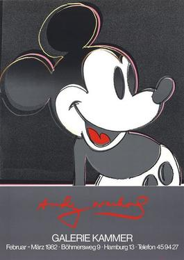 Mickey Mouse, Galerie Kammer