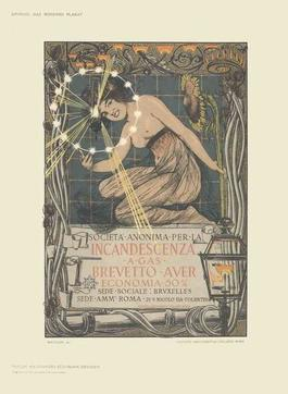 Giovanni Mataloni - Incandescenza a Gas - 1897