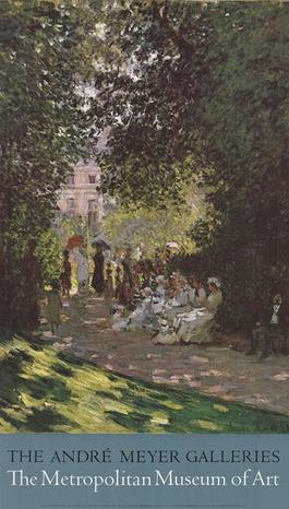 Parisians Enjoying the Parc Monceau