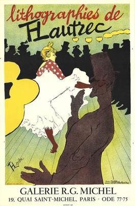 Lithographies de T-Lautrec
