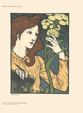 Eugene Grasset - Salon des Cent (before text) - 1897