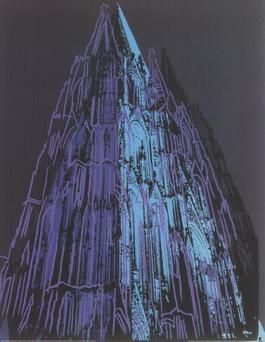 Koln Cathedral Blue