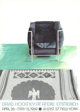 Corbusier Chair and Rug (lg)