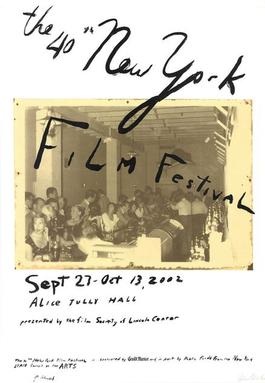 The 40th New York Film Festival