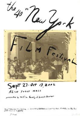 The 40th New York Film Festival