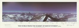 The World from the Summit of Mount Everest