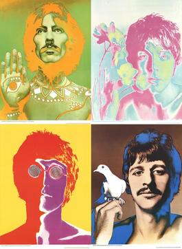 The Beatles (Set of 4)