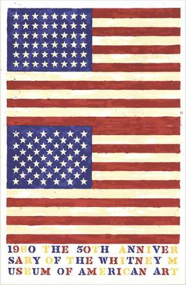 The 50th Anniversary of the Whitney Museum of American Art (Double Flag)
