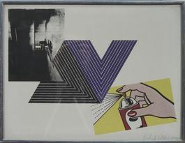 Warhol, Stella, Lichtenstein Combination