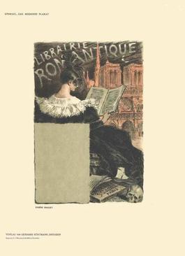 Eugene Grasset - Librairie Romantique - 1897