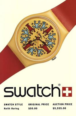 Swatch: Keith Haring-Model Avec Personnages