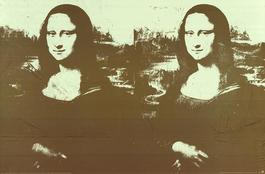 Two Golden Mona Lisas (Lg)