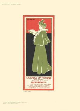 Gisbert Combaz - La Libre Esthetique - 1897
