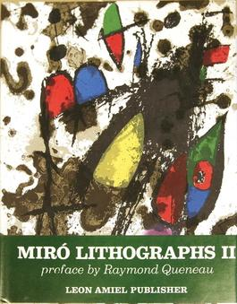 Miro Lithographs, Vol 2 1953-1963