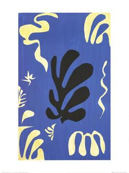 Composition fond bleu (sm)