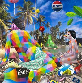 Venus Relaxing at the Trash Paradise II