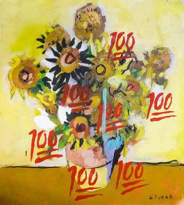 SUNFLOWERS 1888 / Homage to Vincent Van Gogh