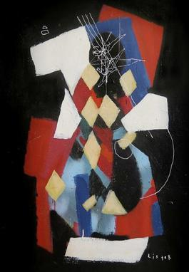 THE HARLEQUIN 1915 / Homage to Pablo Picasso