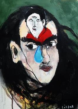 DIEGO AND I 1949 / Homage to Frida Khalo