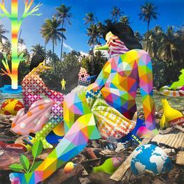 Venus Relaxing at the Trash Paradise I
