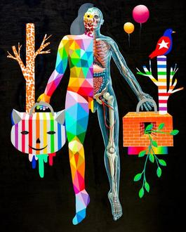 Okuda + Nychos: Body Metamorphosis​