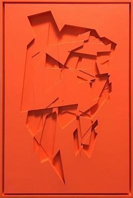 No Title / Fluorescent Orange