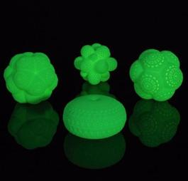 Mars Glow in the Dark Molecules, Set of 4