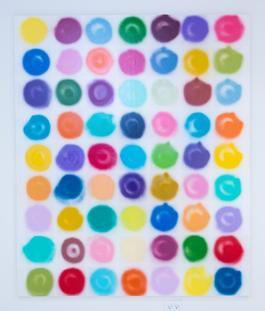 63 Color Spray Dots Yellow