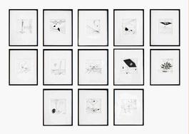 13 drawings