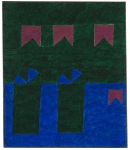 Untitled (Fachada com bandeiras VI)