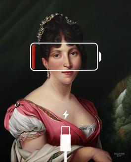 Hortense de Beauharnais, Panic Eight (Charging Battery)