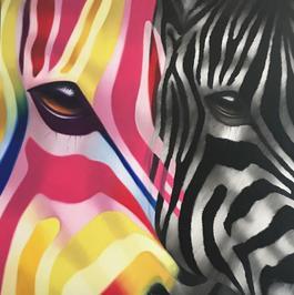 Zebra La Vie en Rose