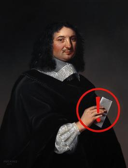 Portrait of Jean-Baptiste Colbert: Panic Ten (Undelivered Message)