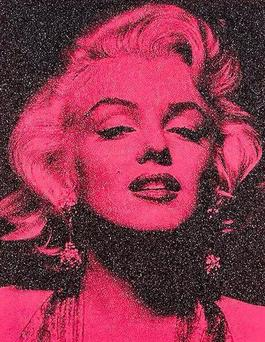Marilyn Portrait California (Hollywood Pink)