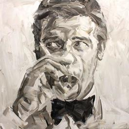 Roger Moore (Black and White)