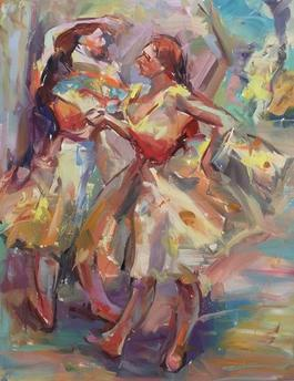 Dancers 4 (After Degas)