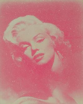 Marilyn Glamour - Pink And White