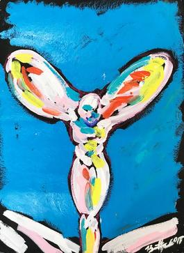 Spirit of Ecstasy Blue